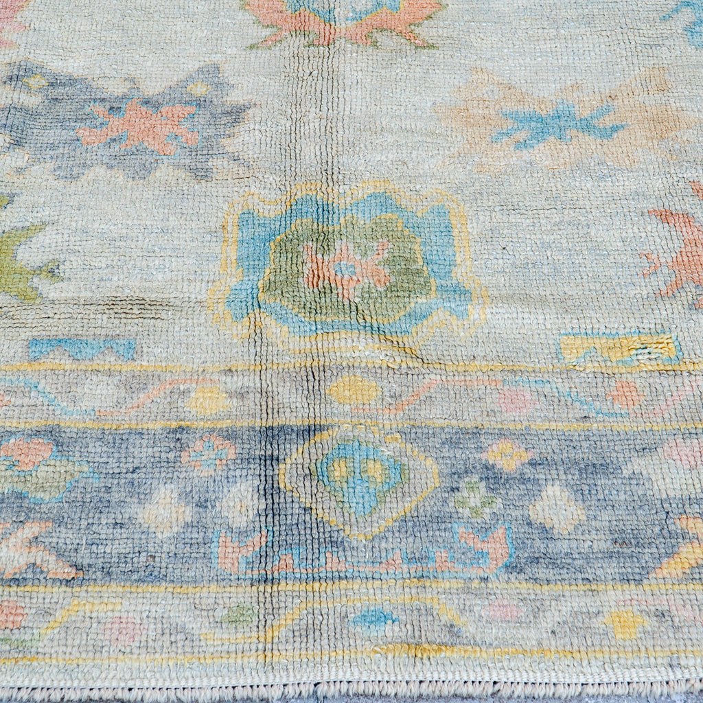 ON HOLD NOT AVAILABLE 2726 Handwoven Vintage Rug 7'9x8