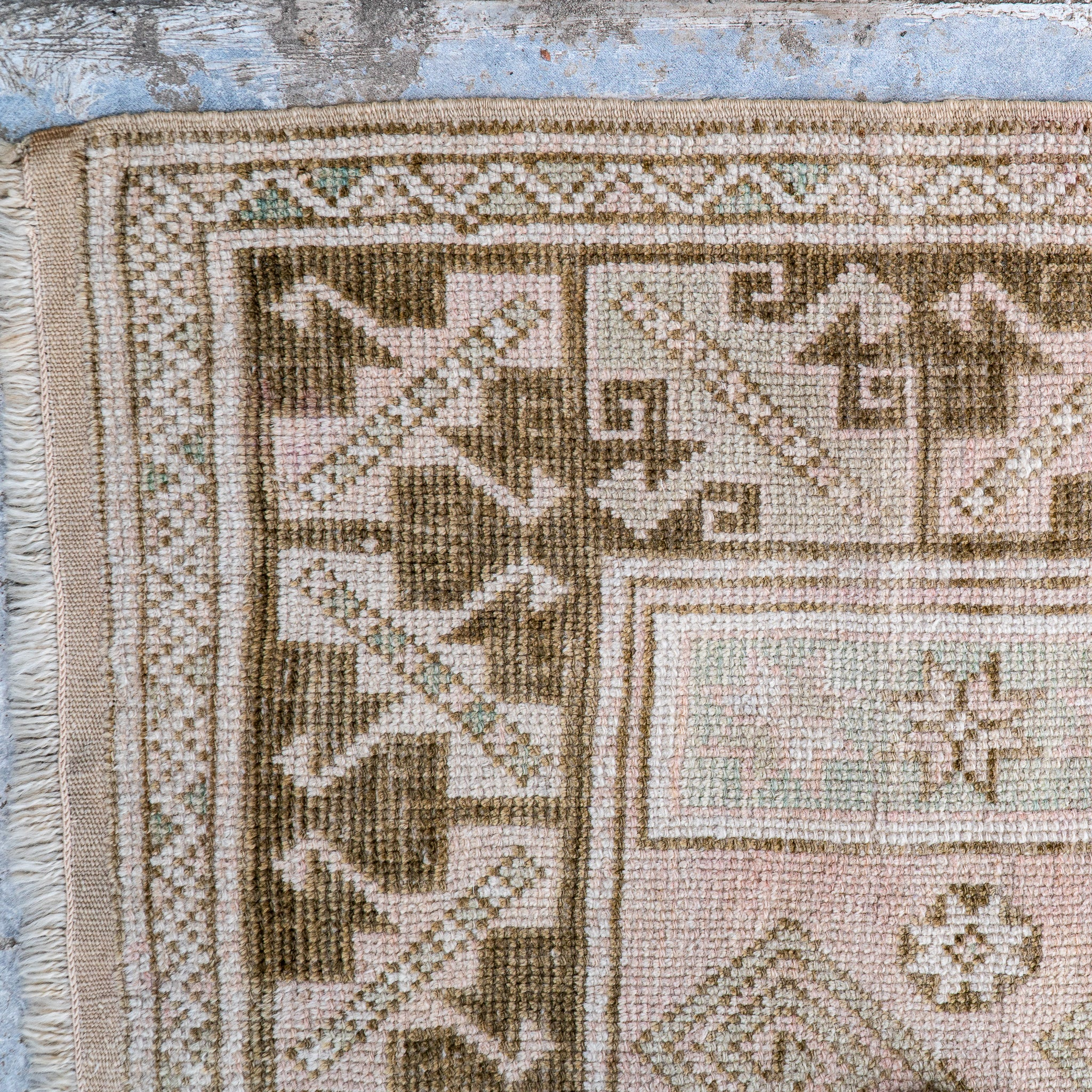 ON HOLD NOT AVAILABLE FOR PURCHASE 2755 Handwoven Vintage Rug 3'11x6'5