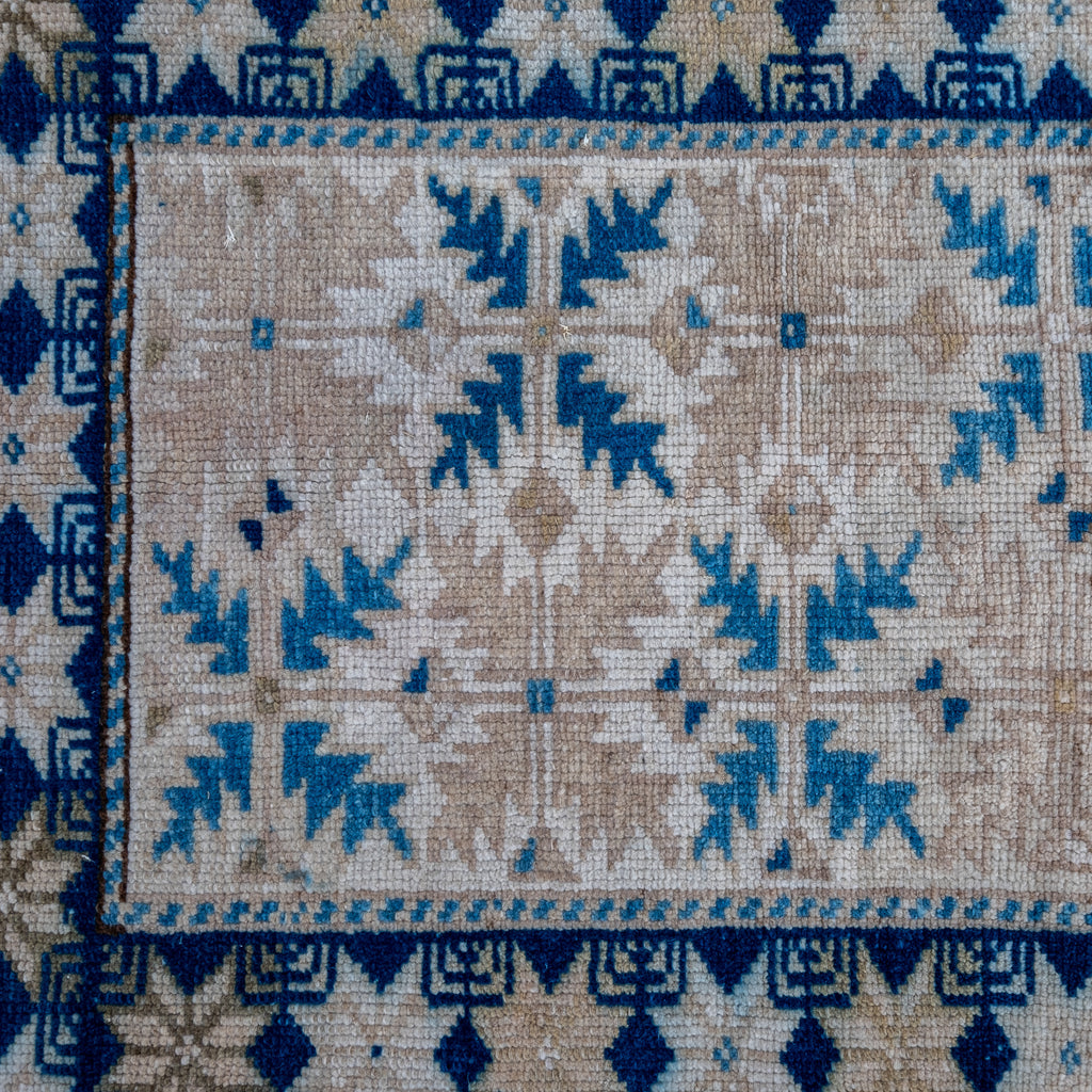 ON HOLD 2860 Handwoven Vintage Rug 2'1x2'9