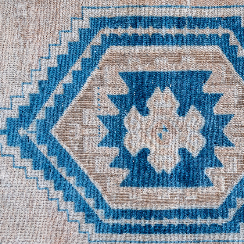 On Hold Not Available for Purchase 2915 Handwoven Vintage Rug 2'7x6'2
