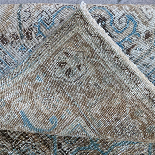 ON HOLD 3370 Handwoven Vintage Rug 7'8x10'6