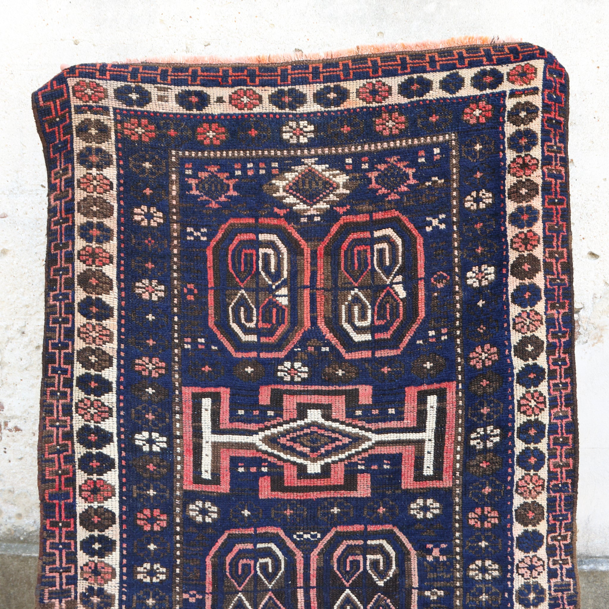 ON HOLD NOT AVAILABLE 462 Zuhal 3'6x8 Handwoven Vintage Rug