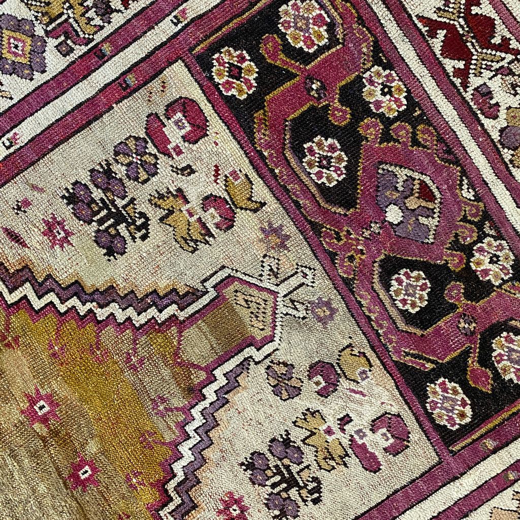 ON HOLD 506 Handwoven Antique Rug 3'5x5'6 LRL