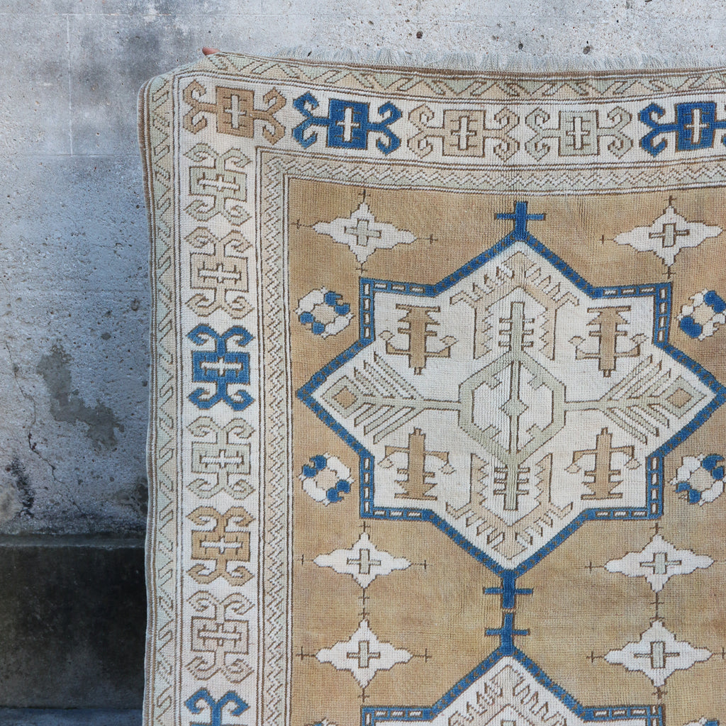 CURRENTLY ON HOLD/NOT AVAILABLE FOR PURCHASE 751 Pinar 4'9x7'1 Handwoven Vintage Rug
