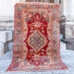 3106 Handwoven Antique Rug 4x6'7