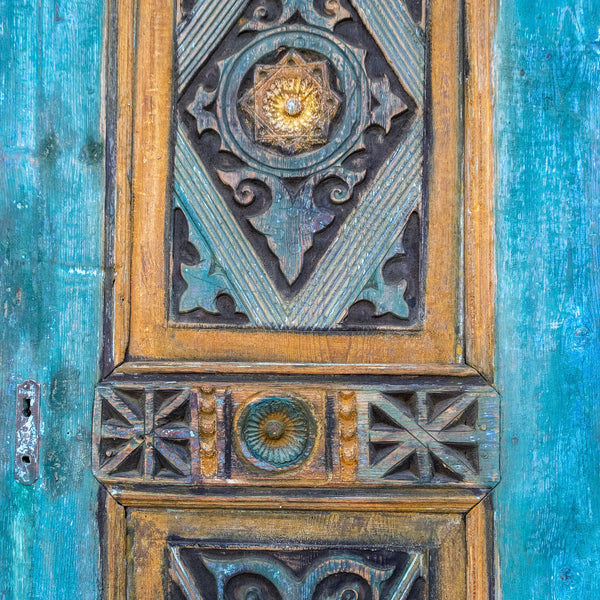 Hand Carved Door #04