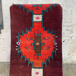 H250 Canan 3x8 Handwoven Vintage Rug