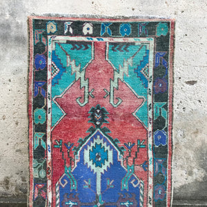 vintage Turkish rug Anatolian