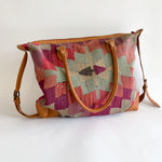 Kilim & Leather Day Bag #20