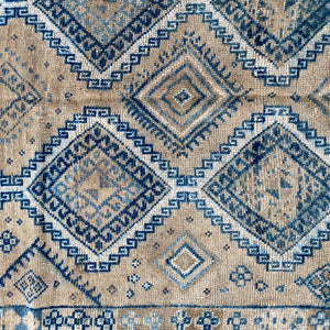 ON HOLD NOT AVAILABLE SE 2640 Handwoven Vintage Rug 3'10x7'7