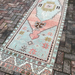 2119 Canan 3'1x11'3 Handwoven Vintage Rug
