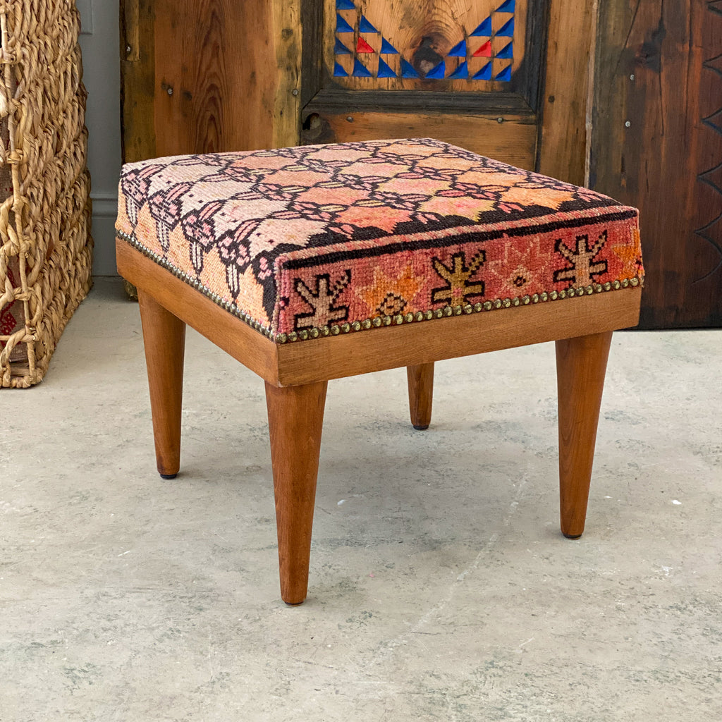 ON HOLD Handmade Small Bench #5 / Ottoman