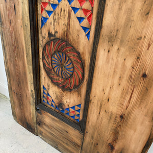 Hand Carved Door #12