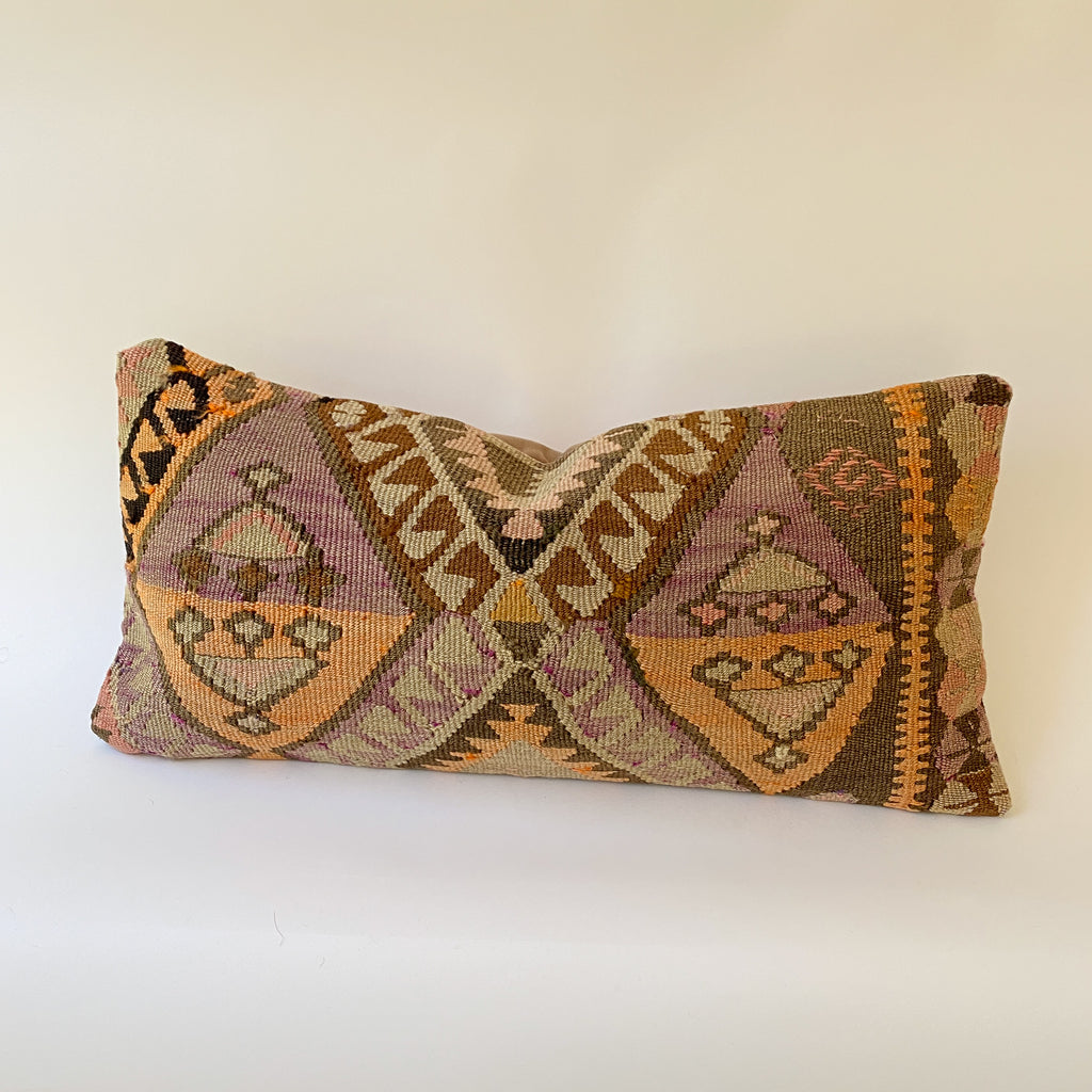 ON HOLD AP 053 Kilim Pillow 12x24