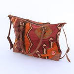 Kilim & Leather Day Bag #8