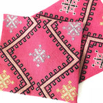 Pink Cicim Pillow Pair 16x16