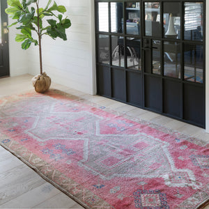 CURRENTLY ON HOLD/NOT AVAILABLE FOR PURCHASE 290 5x11'1 Handwoven Vintage Rug