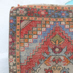 ON HOLD 1159 Asli 9'8x2'10Handwoven Vintage Rug