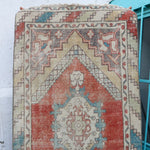 ON HOLD / NOT AVAILABLE FOR PURCHASE 1158 Ela 2'7x9'5 Handwoven Vintage Rug