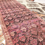 ON HOLD LRL 24 Merve 3'4 x 11'8 Handwoven Antique Rug