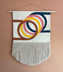 Happy Rings Wall Hanging