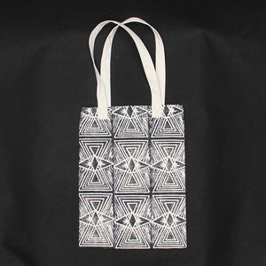 Evil Eye Block Print Soft Tote