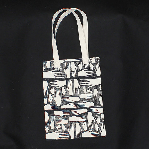 Hands Block Print Soft Tote