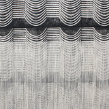 Large Wave Wall Hanging in Black