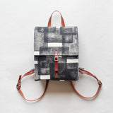 Layered Rec Block Print Small Backpack