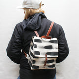 Painted Stripe Small Backpack