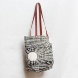 Solar Block Print Tote Bag