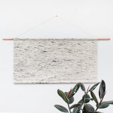 Flowing Wood Grain Faux Headboard Wall Hanging