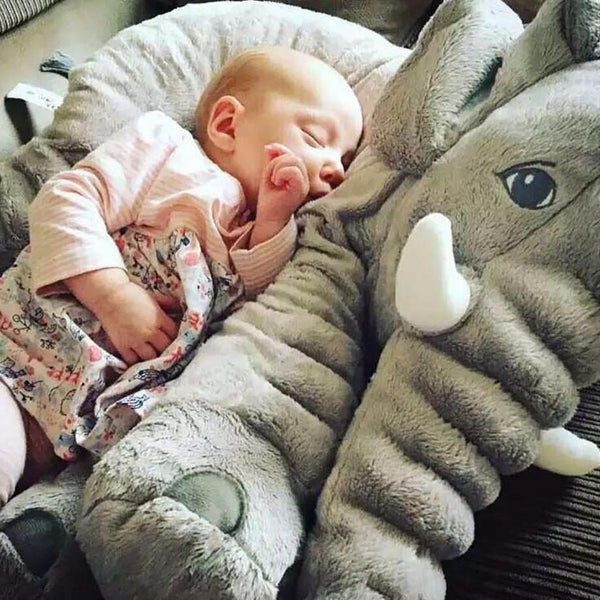 Soft Baby Animal Elephant Pillow