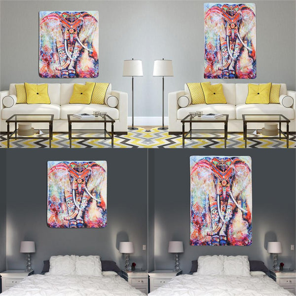 Elephant Hippie Wall Hanging Tapestries