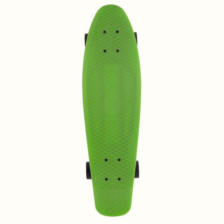 QUIP Cruiser 27 inch Complete Skateboard | Green and Black