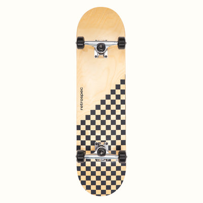Alameda Skateboard | Black Checker