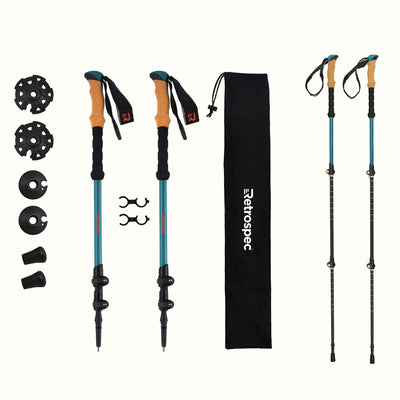 High Point Aluminum Trekking Poles with Cork | Altitude