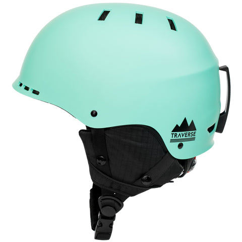 Traverse 2-in-1 Ski & Bike Helmet 2016 | Matte Ice