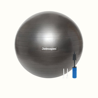 Luna Exercise Ball | Black