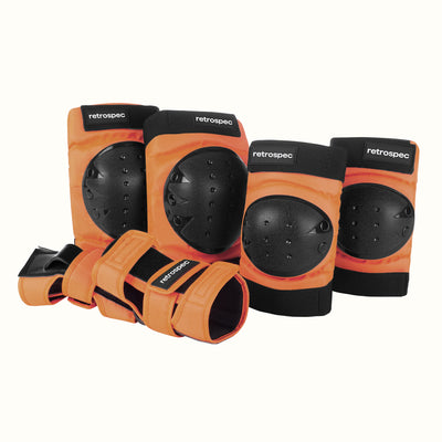 Knee and Elbow Pads & Wrist Guards | Desert Orange