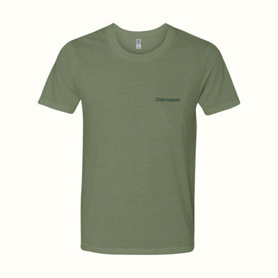 Retrospec Eco Men's Tee | Moss