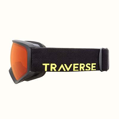 Traverse G3 Youth Goggles | Black and Ember