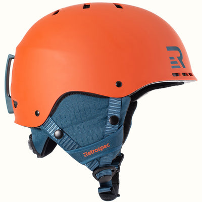 H2 Snow Helmet | Matte Burnt Orange