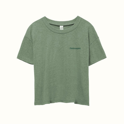 Retrospec Eco Women's Tee | Moss