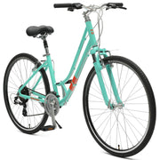 Motley 21-Speed Hybrid Bike Step-Thru Bike | 14IN - XS