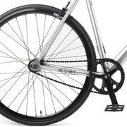 Drome V3 Track Urban Commuter Bike with Carbon Fork | Silver