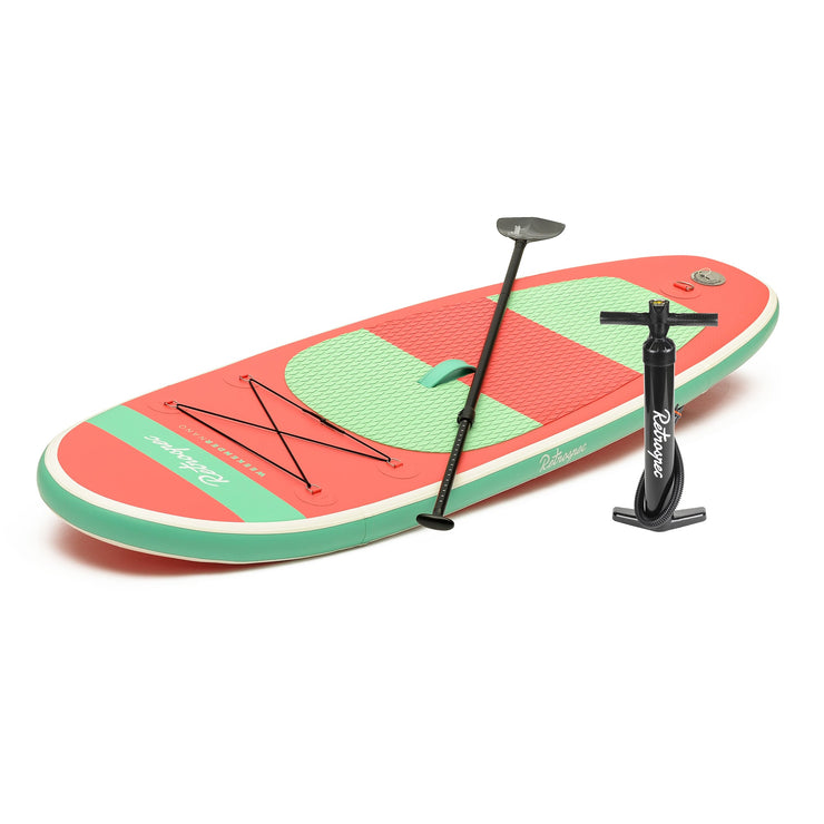 Weekender-Nano 8' MSL Inflatable Stand Up Paddleboard (SUP) | Coral and Seafoam