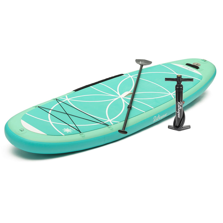 Weekender-Yogi 10' MSL Xtra Wide Inflatable Stand Up Paddleboard (SUP) | Seafoam