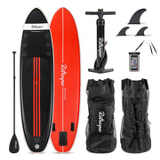 Weekender-Tour Inflatable Touring Standup Paddleboard | Black and Red