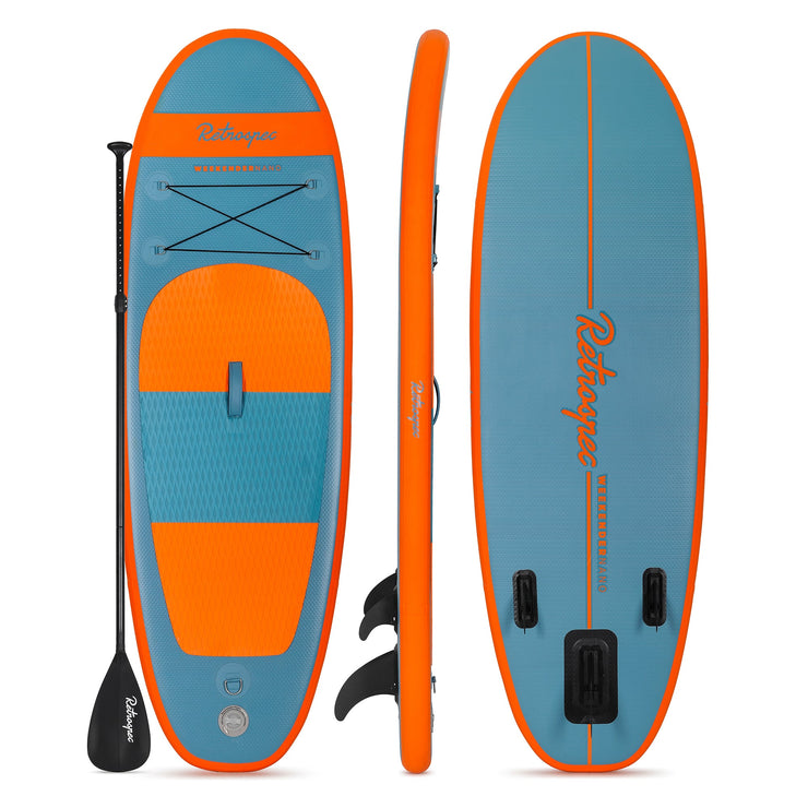 Weekender-Nano 8' MSL Inflatable Stand Up Paddleboard (SUP) | Marine and Orange
